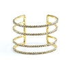 Rhinestone Cuff Bracelet - Fashion You Up