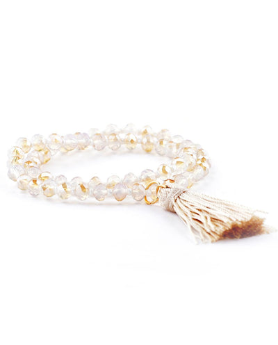 Beaded Bracelet with Tassel - Fashion You Up