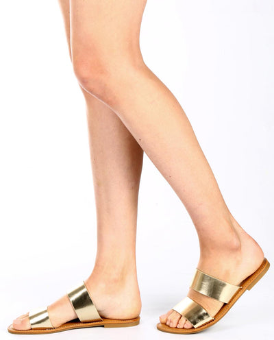 Double Strap Sandals - Fashion You Up