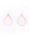 Pear Shape Gemstone Drop Earrings - Fashion You Up