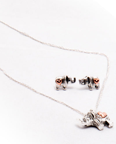 Elephant Pendant Necklace - Fashion You Up