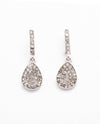 Rhinestone Teardrop Earring - Fashion You Up