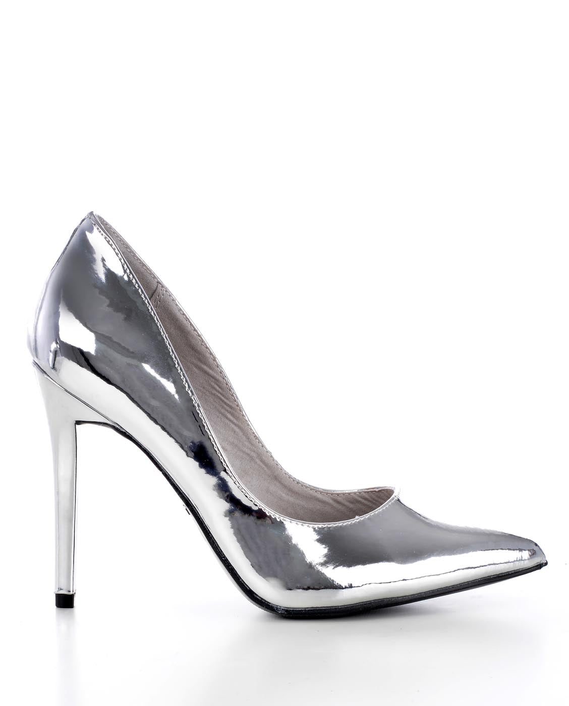 55a480728a2 Metallic Pointed Closed Toe Stiletto Heels - Fashion You Up