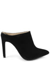 Suede Mule Stiletto Heel - Fashion You Up