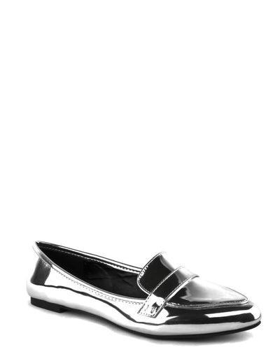 Passport To Happiness Pu Leather Flats - Fashion You Up