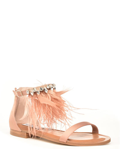 Steve Madden Feather Adore Sandals - Fashion You Up