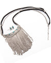 Wild West Mixed Suede And Chain Tassel Necklace - Fashion You Up