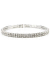 Layered Rhinestone Bracelet - Fashion You Up