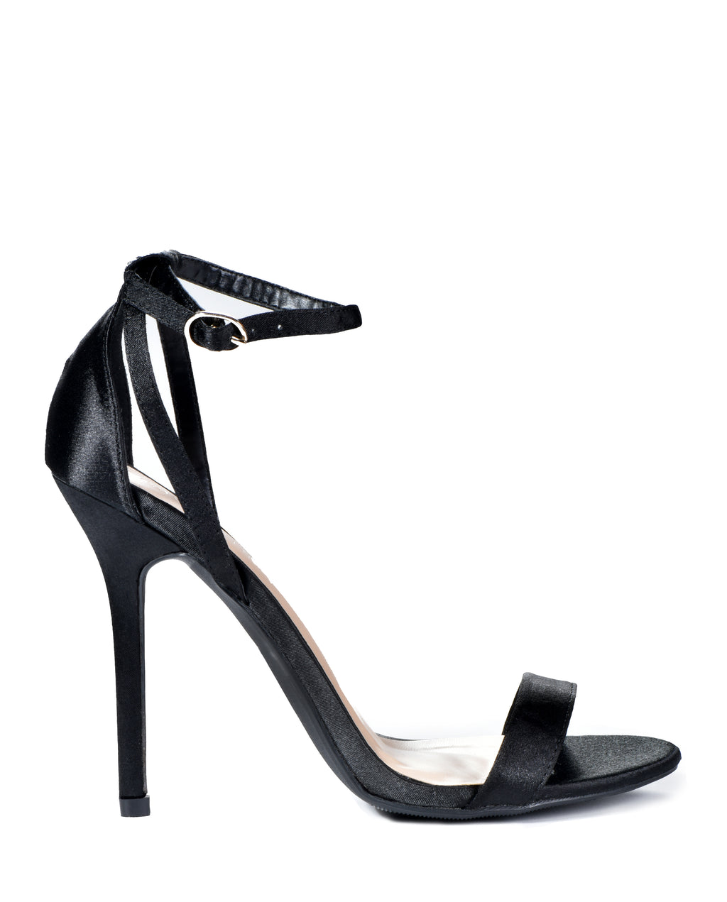 Satin Ankle Strap Satin Heels - Fashion You Up