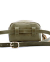 Army Green Faux Leather Belt Bag - Fashion You Up