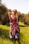 Tie-Dye Maxi Dress - Fashion You Up