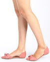 Pointed Bow Flat Slip On - Fashion You Up