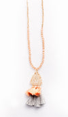 Tassel Drop Necklace - Fashion You Up