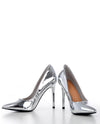 Metallic Pointed Closed Toe Stiletto Heels - Fashion You Up