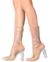 Transparent Acrylic Boots - Fashion You Up