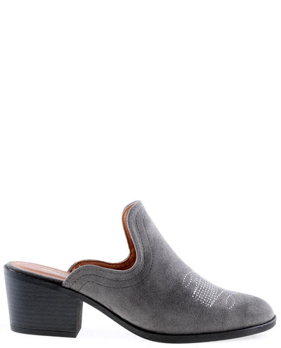 Mule Suede Booties - Fashion You Up