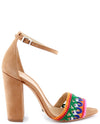 Schutz Joannas Embroidered Heels - Fashion You Up