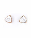 Marble Stud Earrings - Fashion You Up