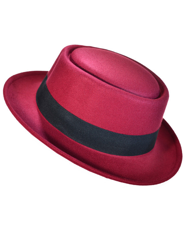 Flat Brim Fedora Hat - Fashion You Up
