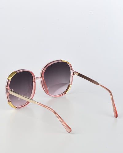 70s Vintage Oversized Round Sunglasses - Fashion You Up