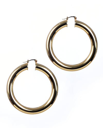 Chunky Gold Hoop Earrings - Fashion You Up
