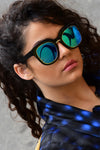 Square Plastic Frame Sunglasses - Fashion You Up