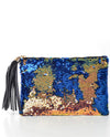 Flip Sequined Clutch - Fashion You Up