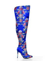 Oriental Thigh High Boots - Fashion You Up
