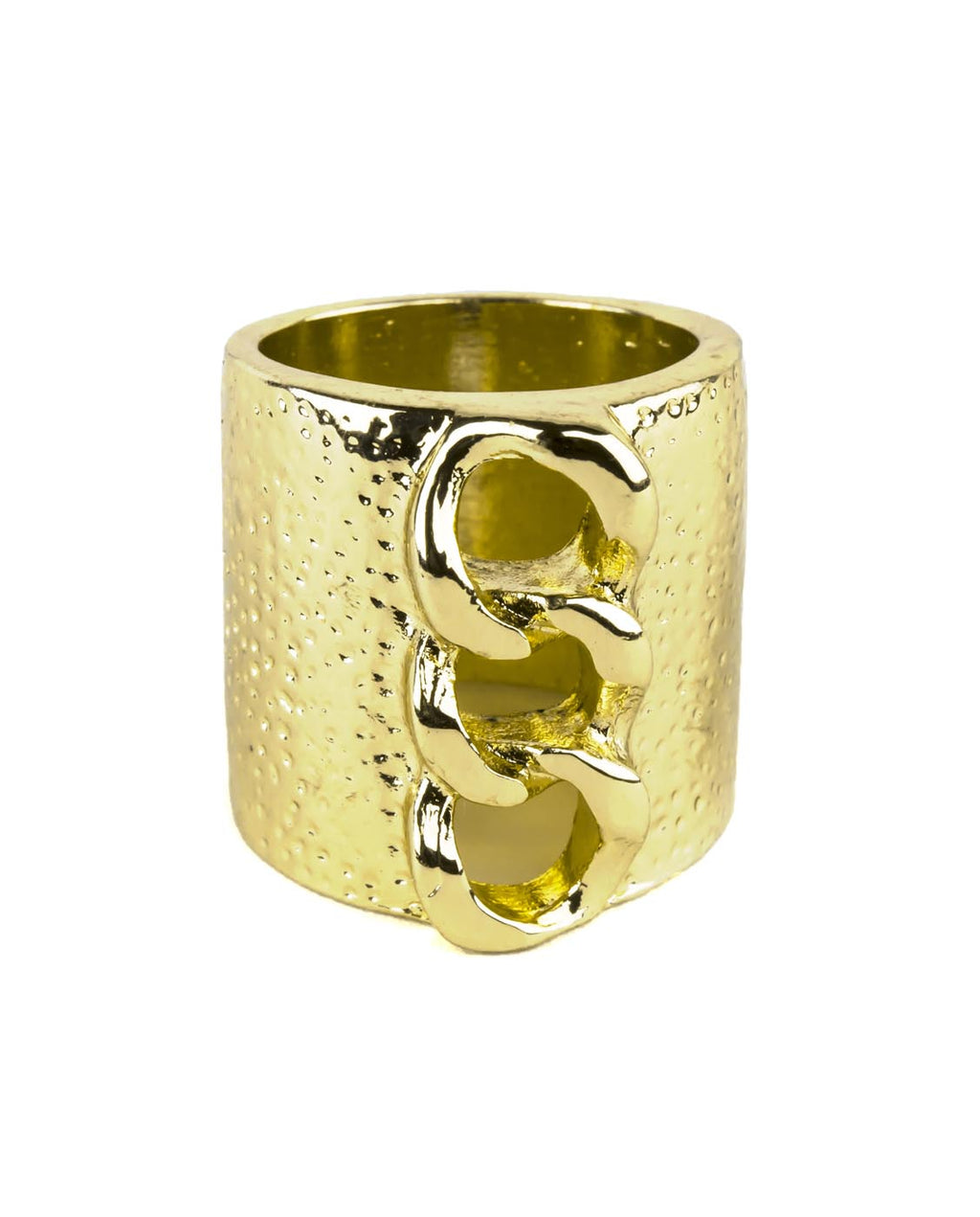 Gold Chain Band Ring - Fashion You Up