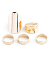 Multi-Shaped Ring Set - Fashion You Up