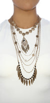 Antique Layered Necklace - Fashion You Up