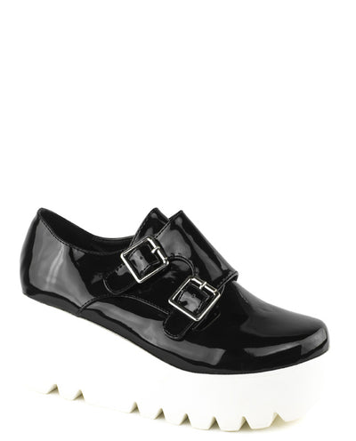 Pu Leather Platforms - Fashion You Up