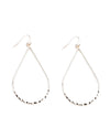 Metal Teardrop Earrings - Fashion You Up