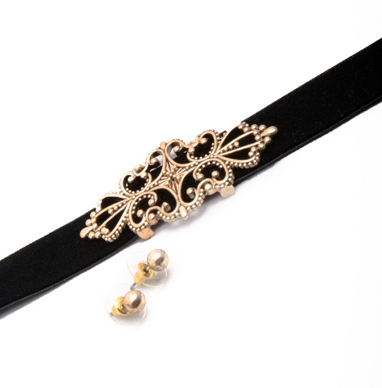 Intricate Metal Choker - Fashion You Up