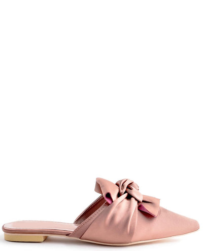 Satin Pointed Toe Flat Satin Flats - Fashion You Up