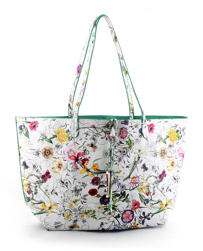 Floral Carryall Purse - Fashion You Up