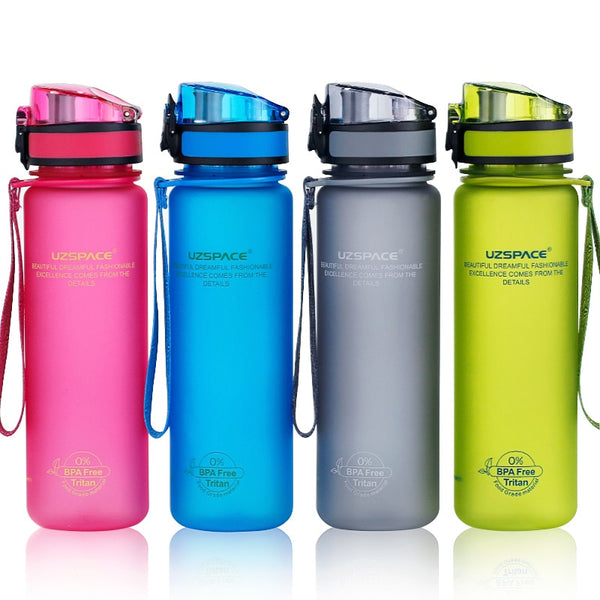 Water Bottles 500/1000ML Shaker Leakproof Outdoor Sport Direct Drinking My Bottle Tritan Plastic Eco-Friendly Drinkware BPA Free