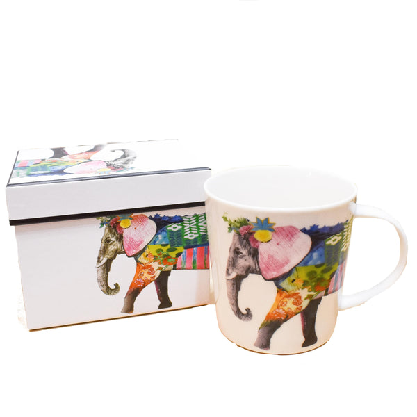 Taza Regalia Elephant - Ironica Tea Shop