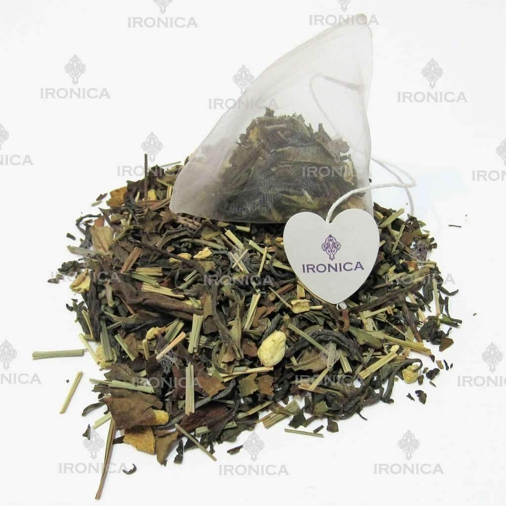 #130 - Té Jengibre con Limón Natural - Ironica Tea Shop
