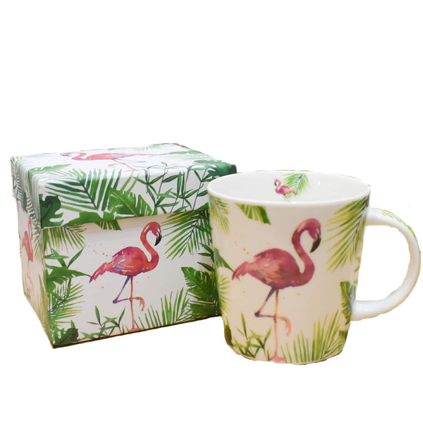Taza Tropical Flamingo - Ironica Tea Shop