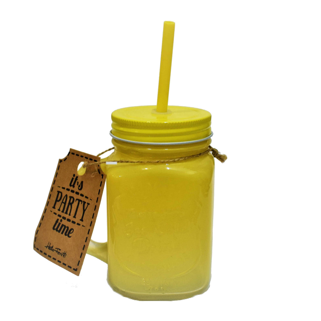 "Tumbler Amarillo ""It's party time"" - Ironica Tea Shop"