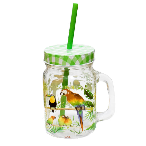 Tumbler Tropical Birds - ironica-tea