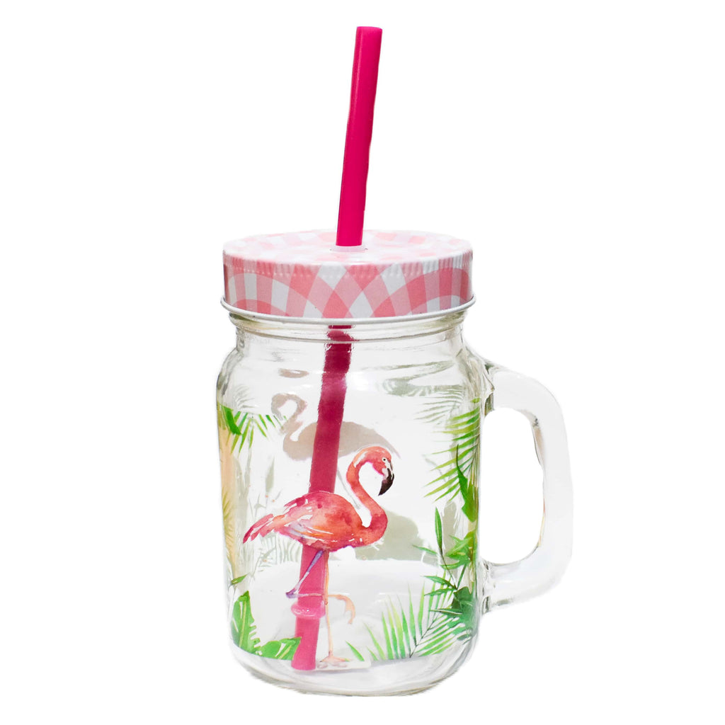 Tumbler Tropical Flamingo - Ironica Tea Shop
