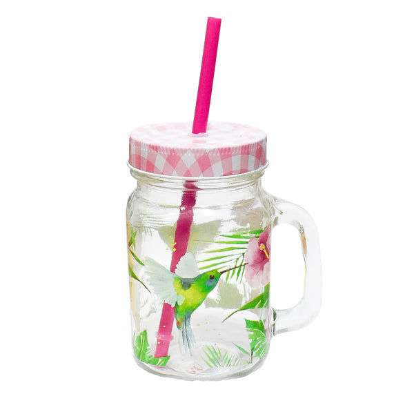 Tumbler Tropical Hummingbird - Ironica Tea Shop