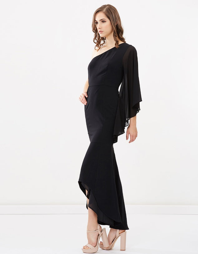 Celine One Sleeve Maxi