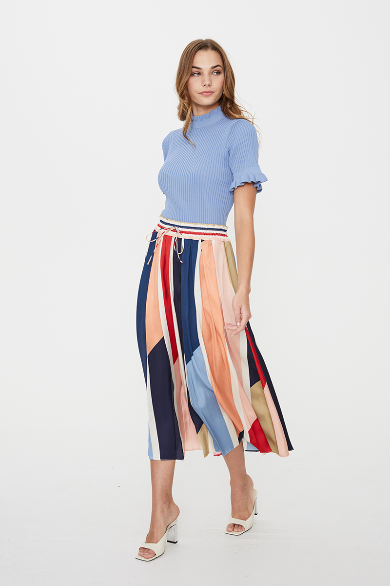 Charlie Pleated Skirt