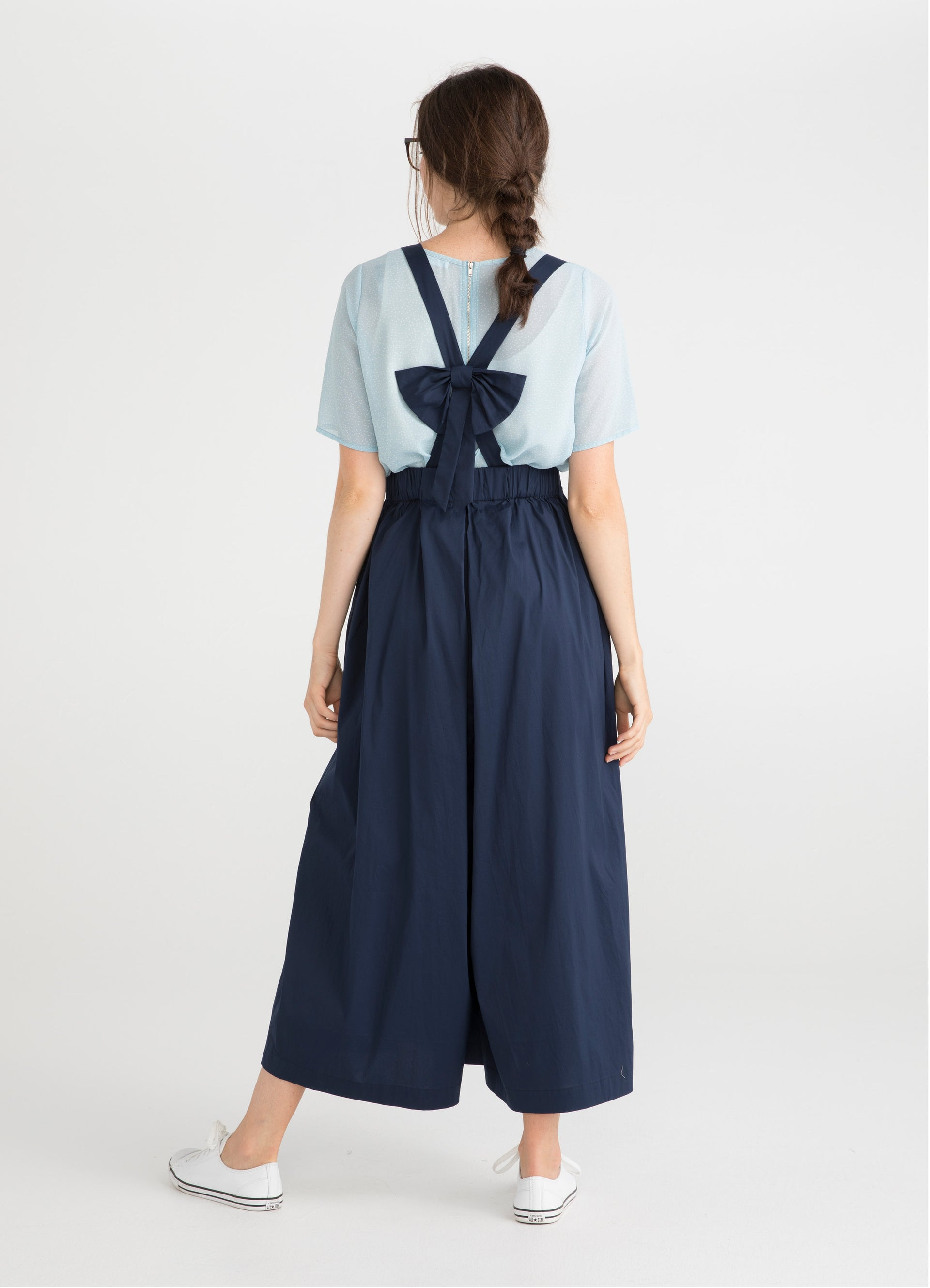 Bow Suspender Pants