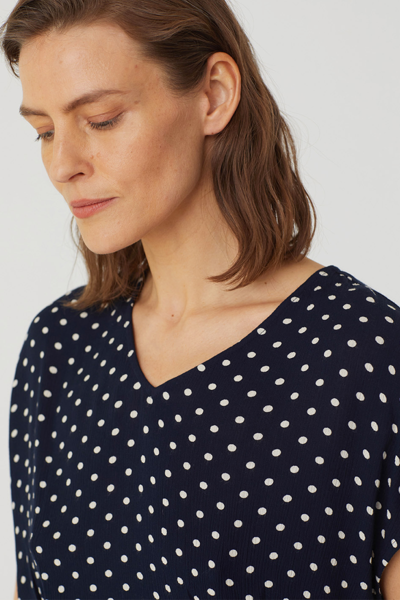 Bubble Dot Top