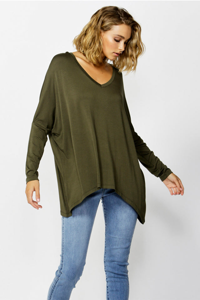 Geneva V-Neck Top
