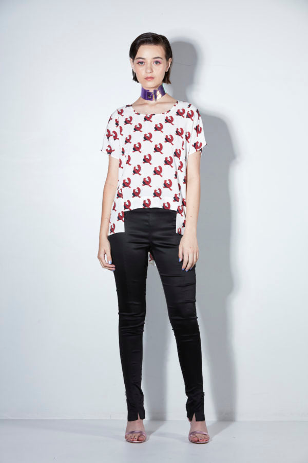 Lovebird Cropped Tee